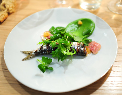 2nd Course: Sardine Grillée