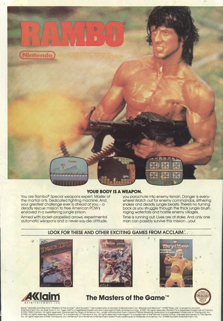 NES Rambo