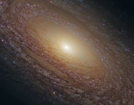 Galaxy of Stars NGC 2841 image from Hubble