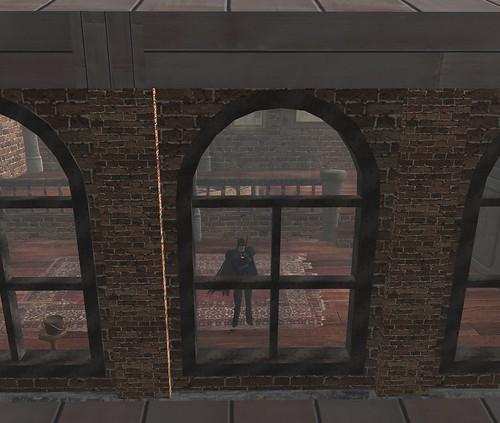 Steampunk Loft Window Shot