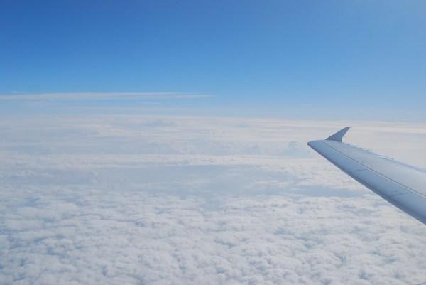 Volando de Alicante a Madrid