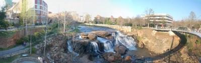 Reedy Falls Panorama