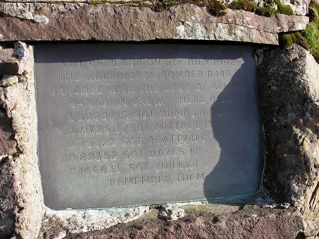 Wellington Memorial nr Blaen Y Glyn