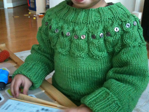 Baby owls sweater