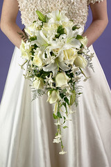 Cascade Bridal Bouquet