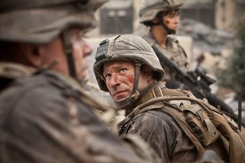 Robbey Battle Los Angeles World Invasion Movie