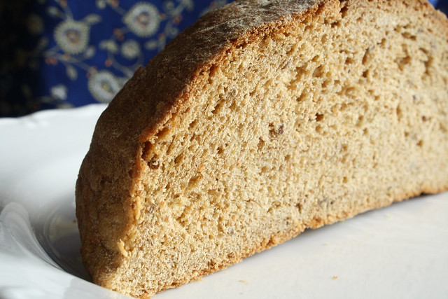 molasses whole wheat bread