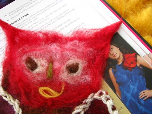 Snowbound Owlie