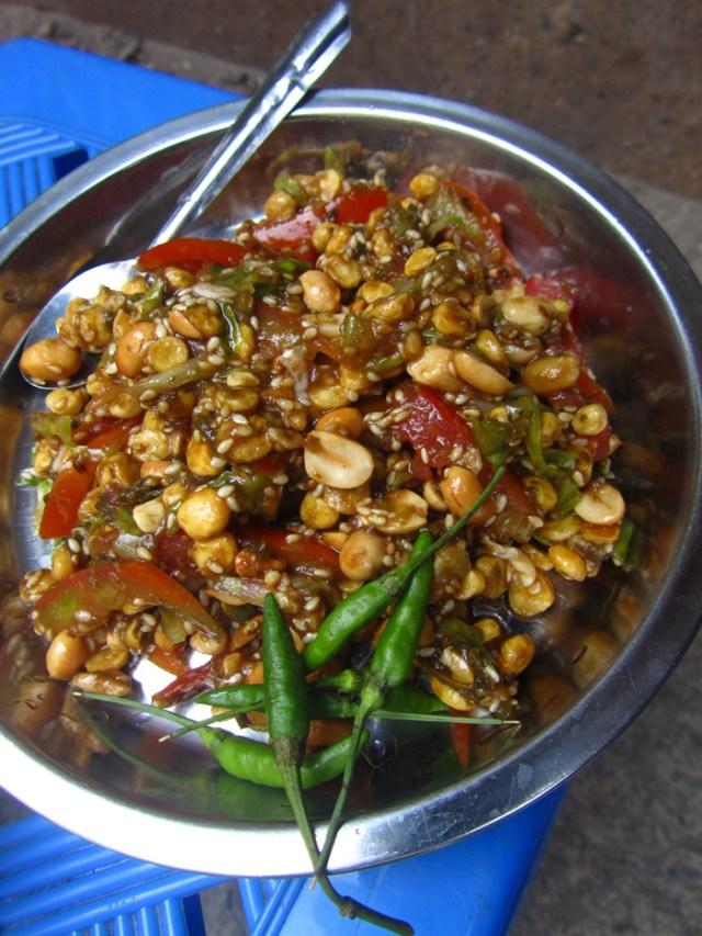 Laphet Thohk, Burmese Green Tea Salad
