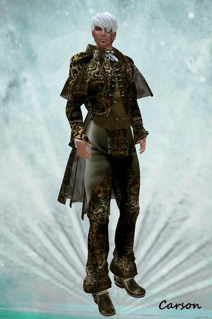 Avatar Bizarre, Double Dragon Gold Suit