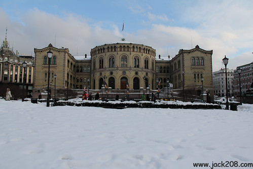 110223 OSL - Parliament Building