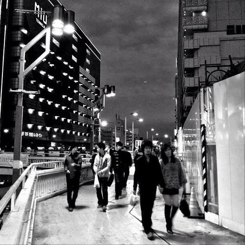 夜はこれから…。 ☆。.:*:・'゜ヽ( ´ー`)ノ まったね~♪ #Osaka #Abeno #night