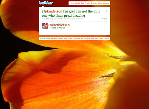Prezi Conversation via Twitter