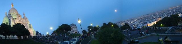 Sacré Coeur et Paris