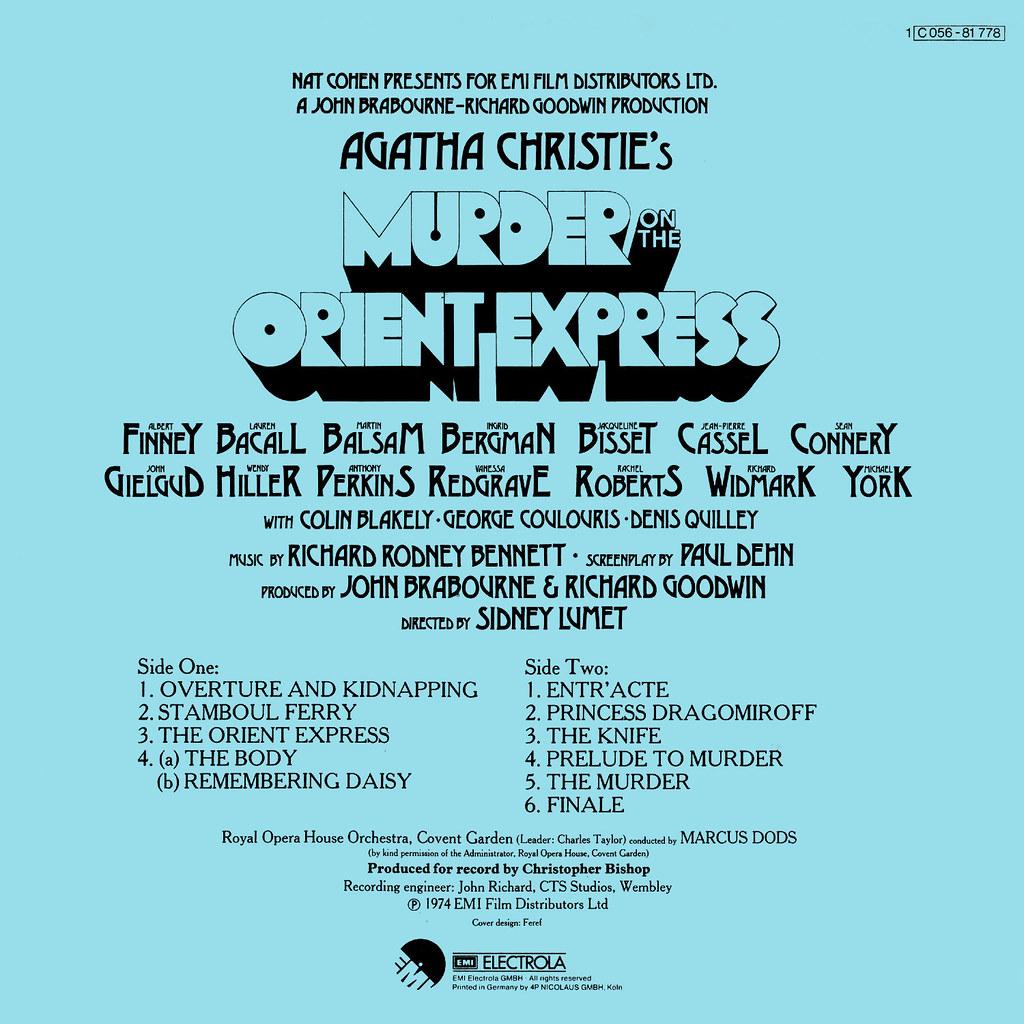 Richard Rodney Bennett - Murder on the Orient Express