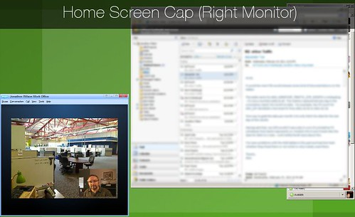 Home Screen Cap: Right Monitor