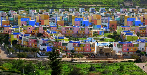 Casas de colores.Colourful Houses by ironde