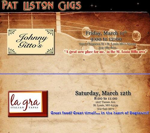 Pat Liston 3-11, 3-12-11