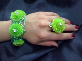 Floral Bracelet and Ring - Shirley's Flowers & Gifts, Inc., in Rogers, Ark.
