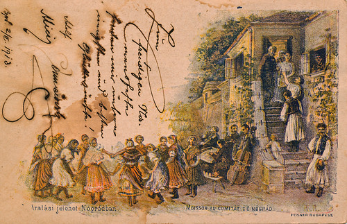 old congratulation card from 1913