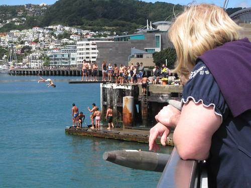 Hot summer in Wellington
