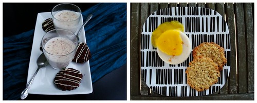 Panna Cotta and Florentines two ways
