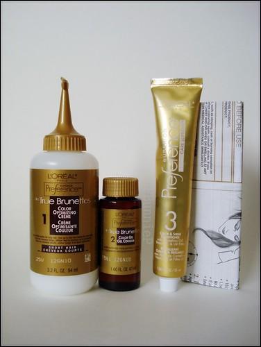 L'Oreal Superior Preference Haircolour contents