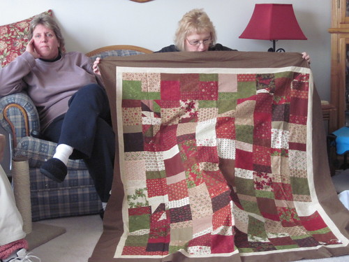 Becky's lap quilt