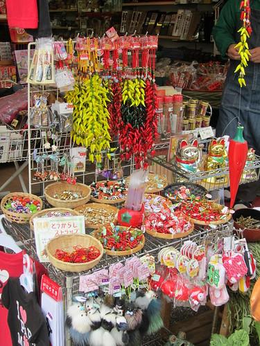 Gift shop at Zenkoji