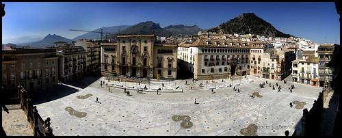plaza santa maria by Francis J. Cano