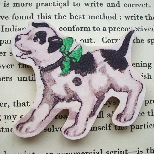 Brooch Puppy