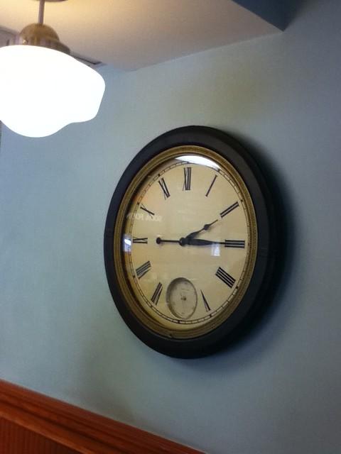 big round clockface