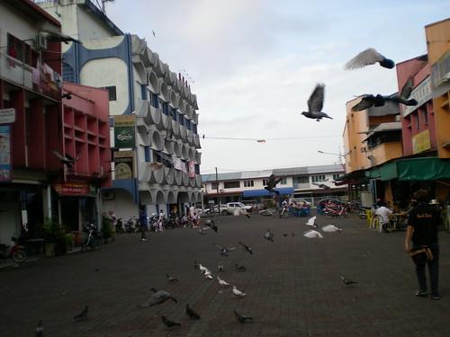 Rejang Park shops, Sibu