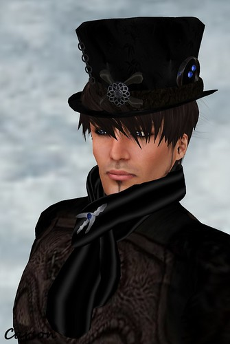 LNL Blue Gemmed  Hat & Scarf  Timeless Treasure Hunt