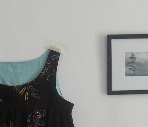 Linen Yoke Dress