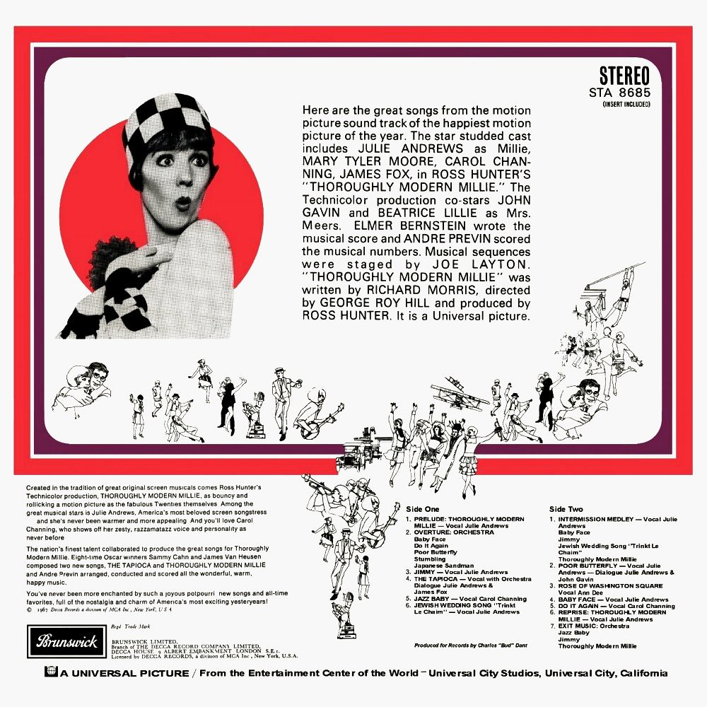 Elmer Bernstein - Thoroughly Modern Millie