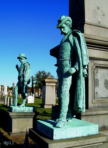 Civil War soldiers monument by dppuchol