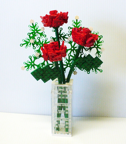 Open Rose Bouquet 1