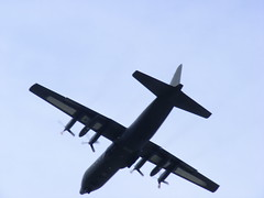 Hercules C130 transport plane from evacuation ...