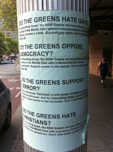Do the Greens hate gays?