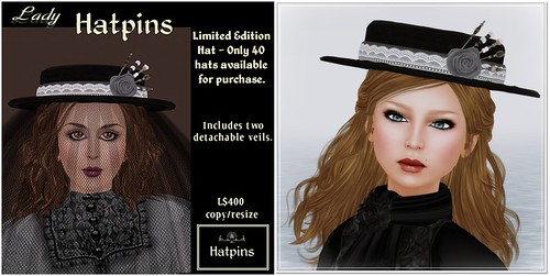 Hatpins - Lady Hatpins Limited Edition