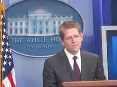 New White House Press Secretary Jay Carney's f...