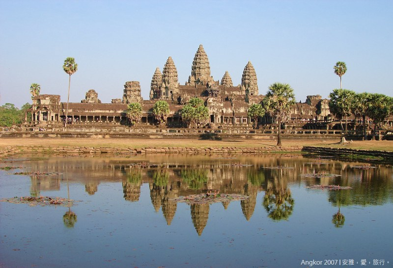 柬埔寨 吳哥窟 │ 小吳哥寺(Angkor Wat)的絕代風華(二)