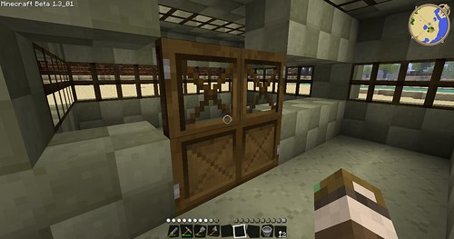 Minecraft - Inside Stable