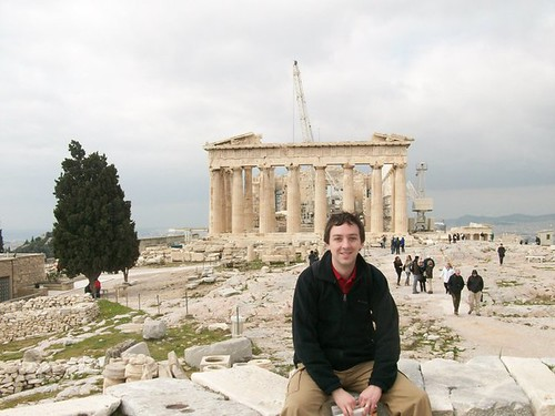 Your Humble Correspondant and the Parthenon