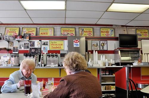 Ladies Who Lunch at the Elliston Place Soda Shop Nashville TN
