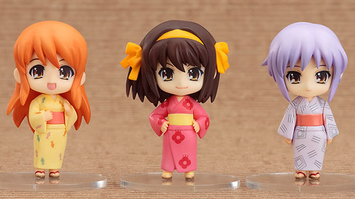 Nendoroid Petit: Haruhi Summer Festival Set