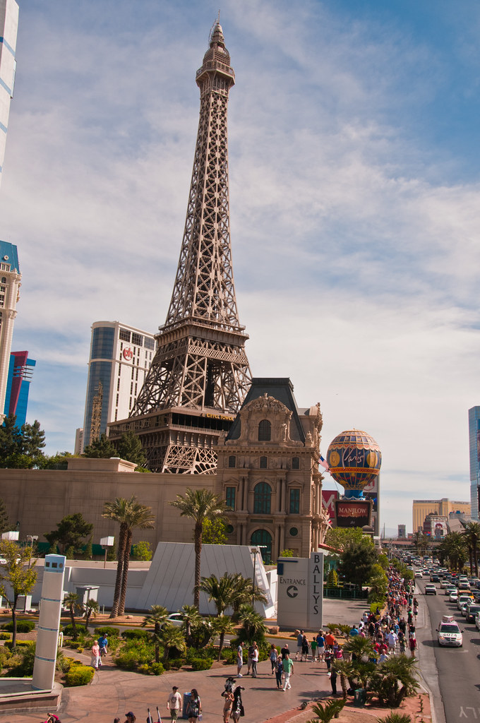 Paris Las Vegas - the Eifel Tower