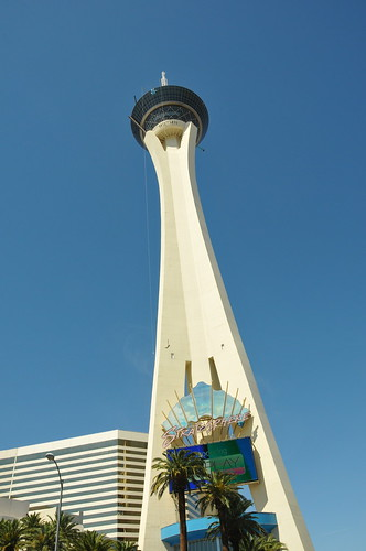 Stratosphere - if you look close, you'll see a jumper