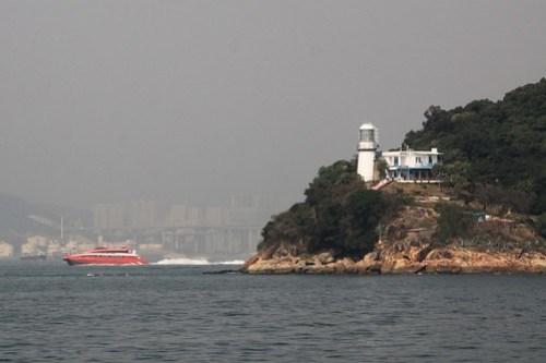 Green Island Lighthouse Hong Kong